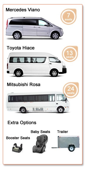 Van and bus hire Melbourne